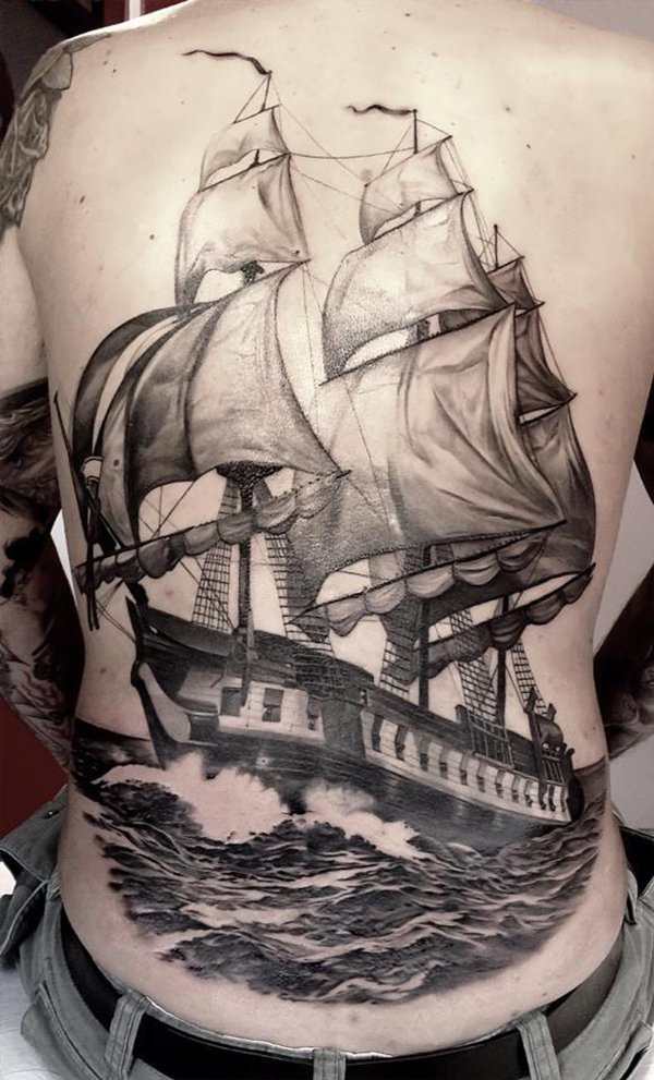 boat tattoo designs (2)