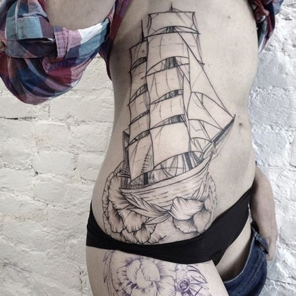 boat tattoo designs (20)