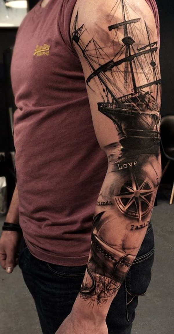 boat tattoo designs (32)