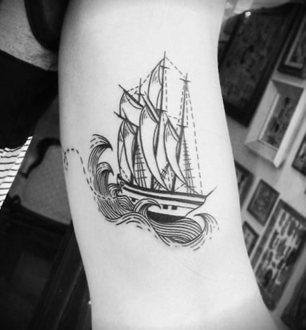 boat tattoo designs (43)