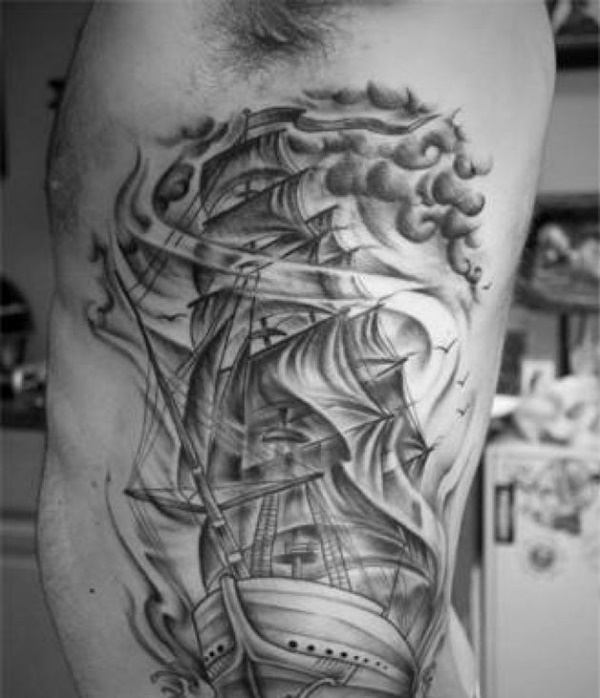boat tattoo designs (53)