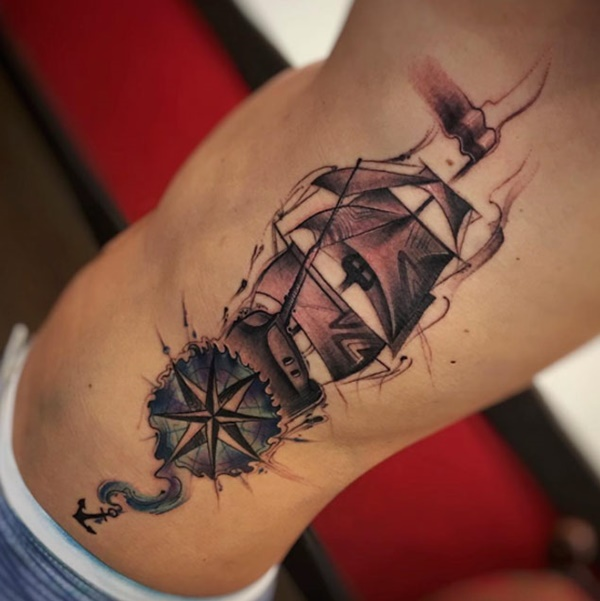 boat tattoo designs (56)