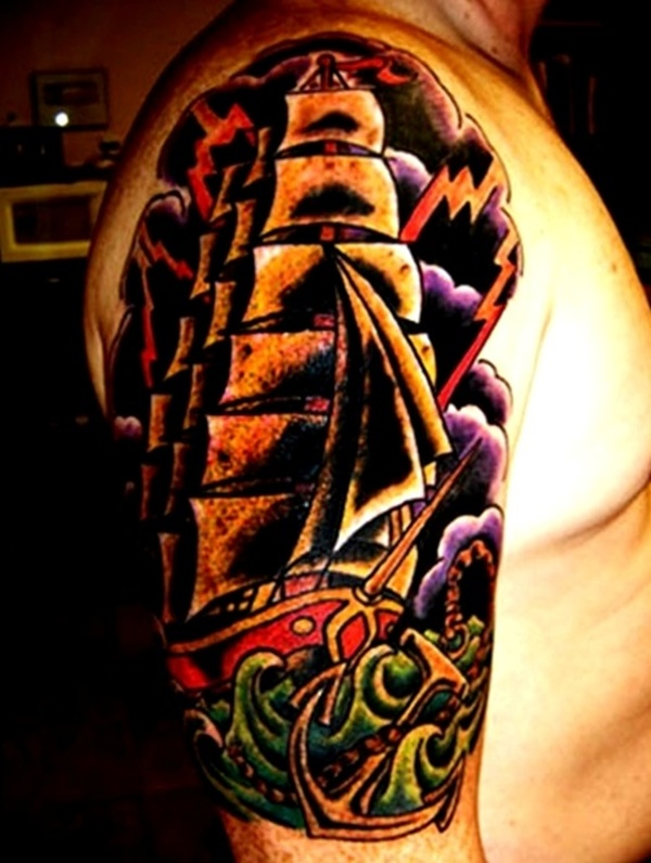boat tattoo designs (57)