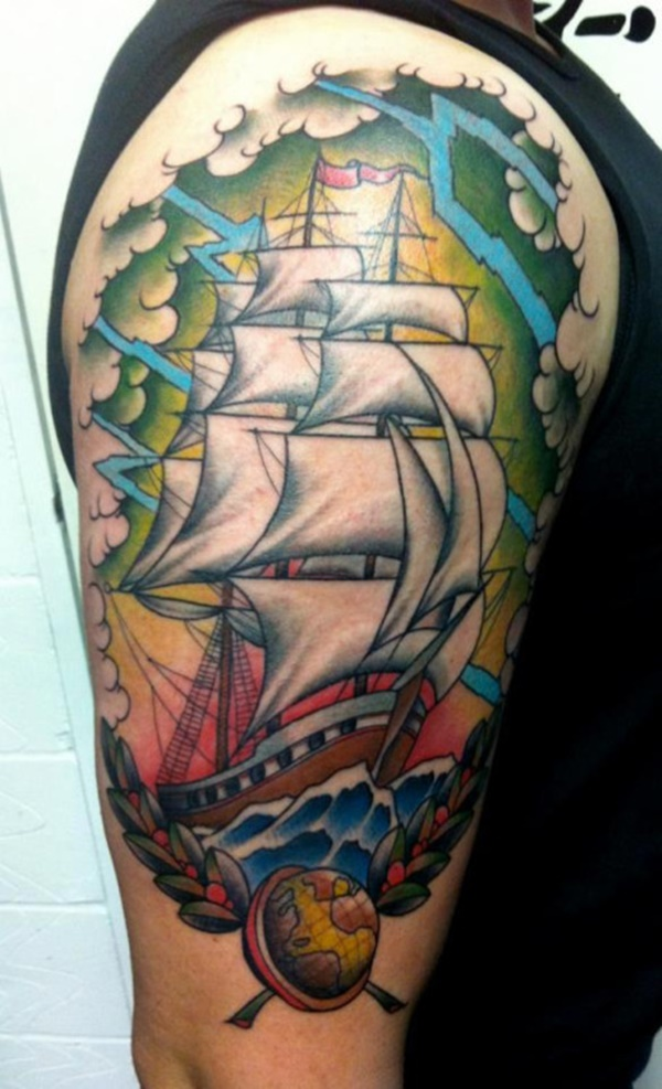 boat tattoo designs (68)