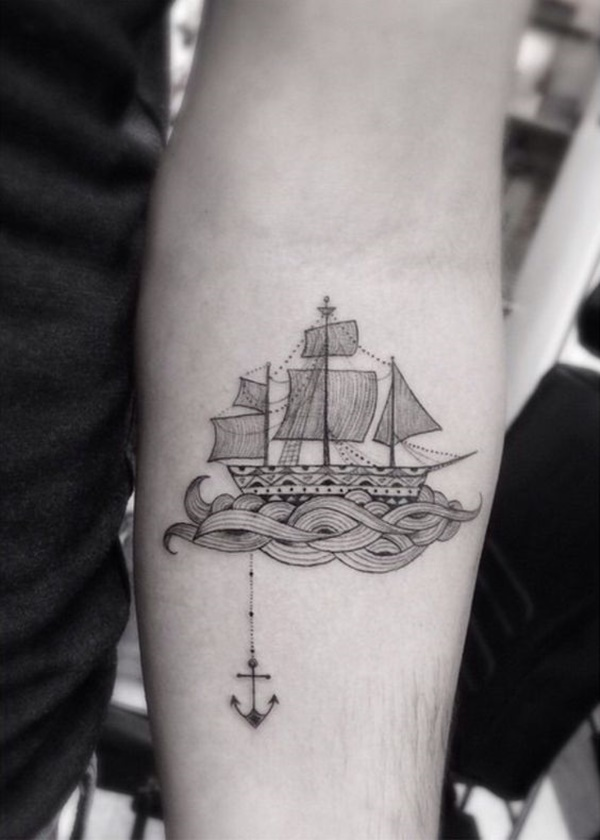 boat tattoo designs (7)