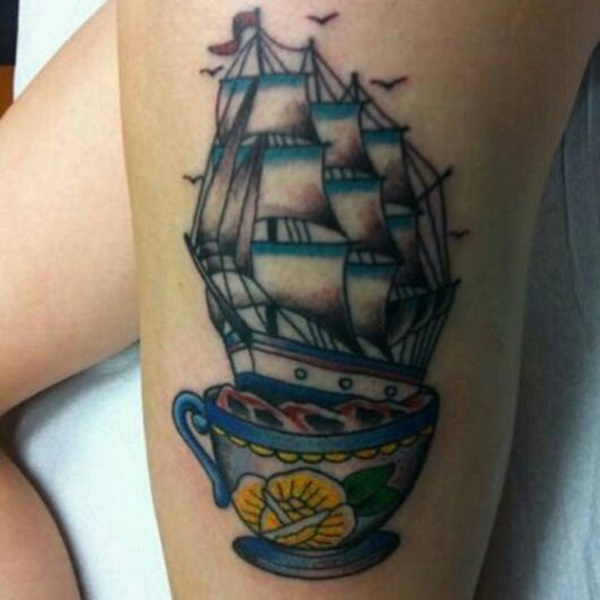 boat tattoo designs (70)