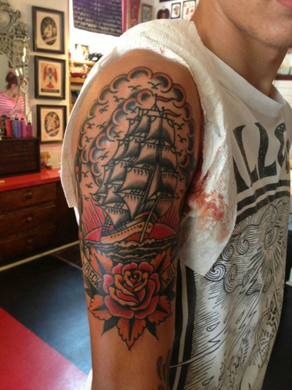 boat tattoo designs (72)