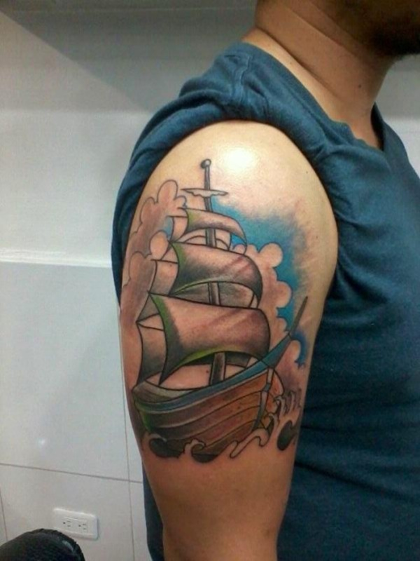 boat tattoo designs (76)