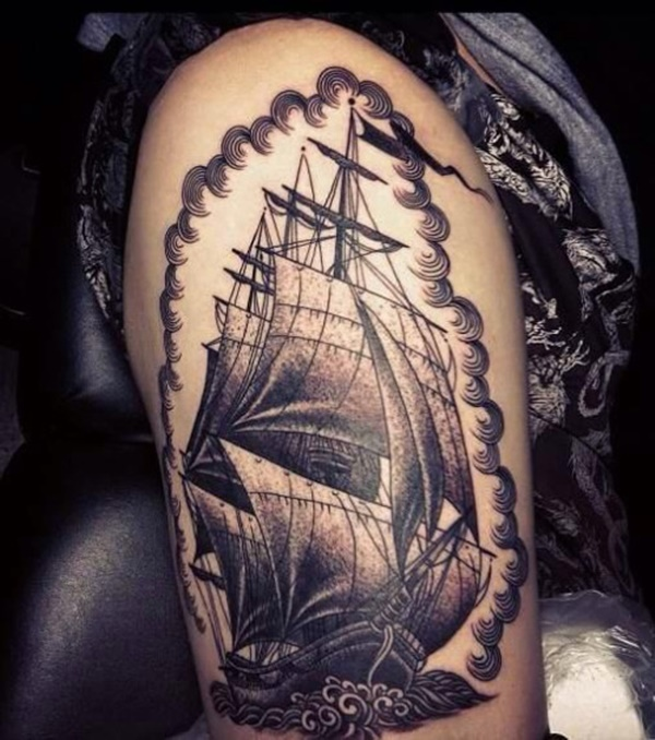 boat tattoo designs (78)