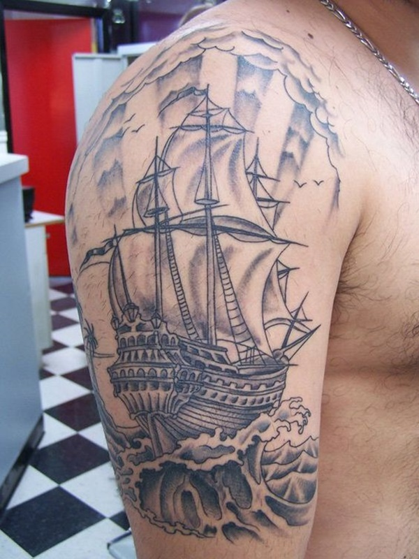 boat tattoo designs (9)