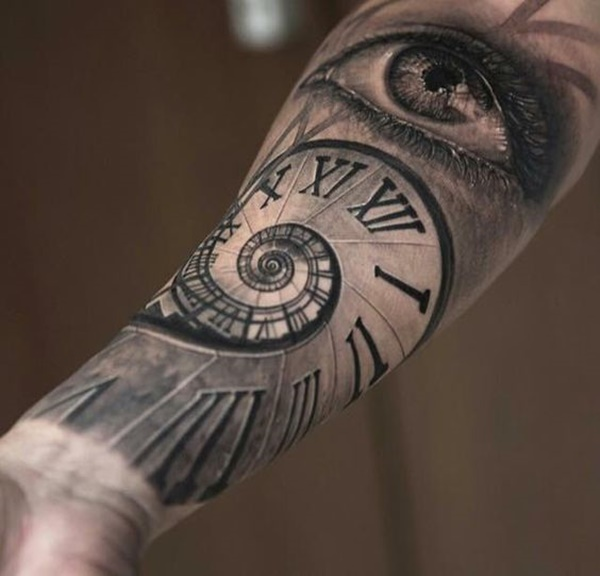 clock tattoo designs (1)