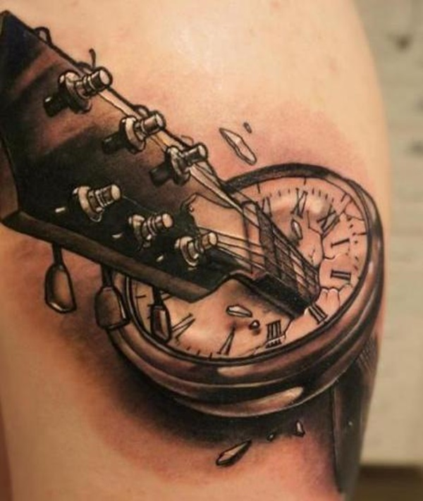 clock tattoo designs (107)