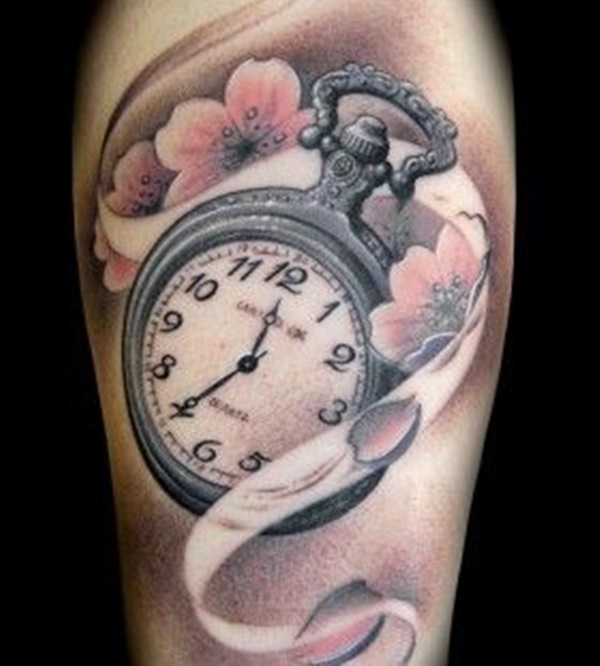 clock tattoo designs (13)