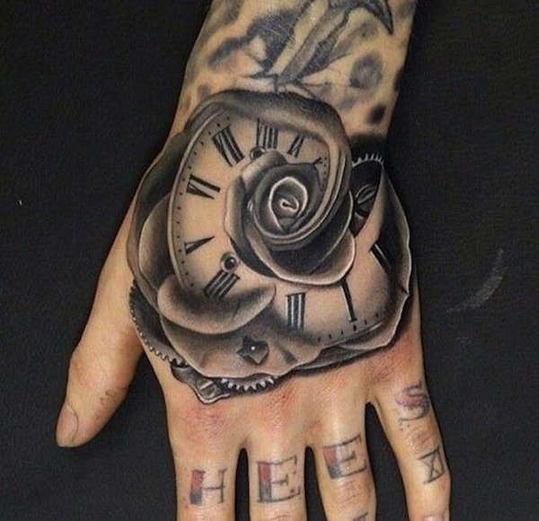 clock tattoo designs (16)