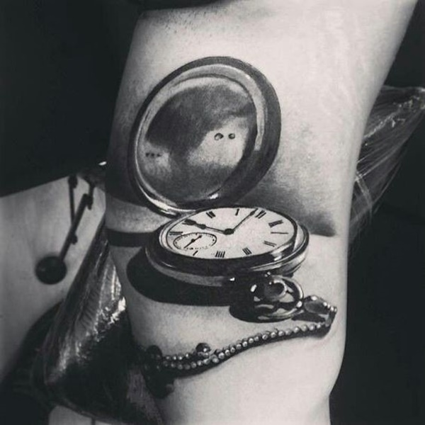 clock tattoo designs (22)