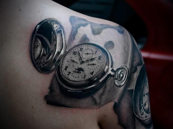 clock tattoo designs (24)