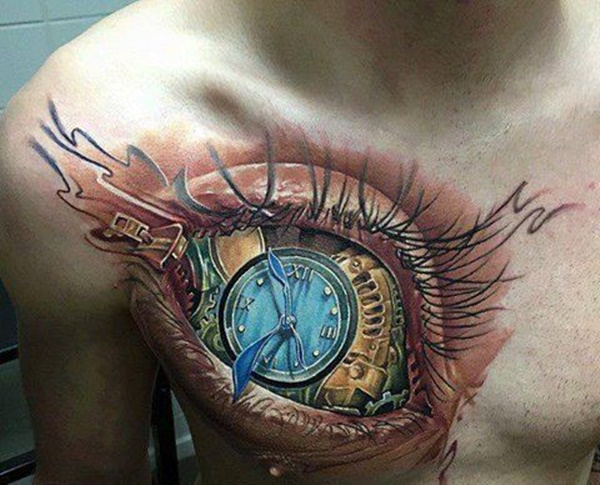 clock tattoo designs (25)