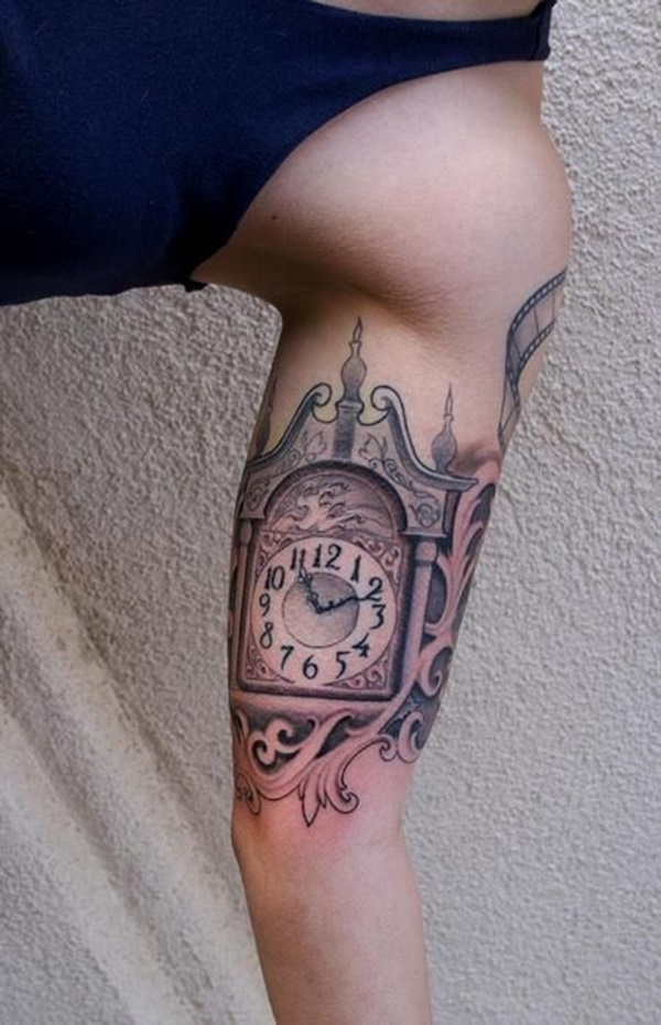 clock tattoo designs (3)