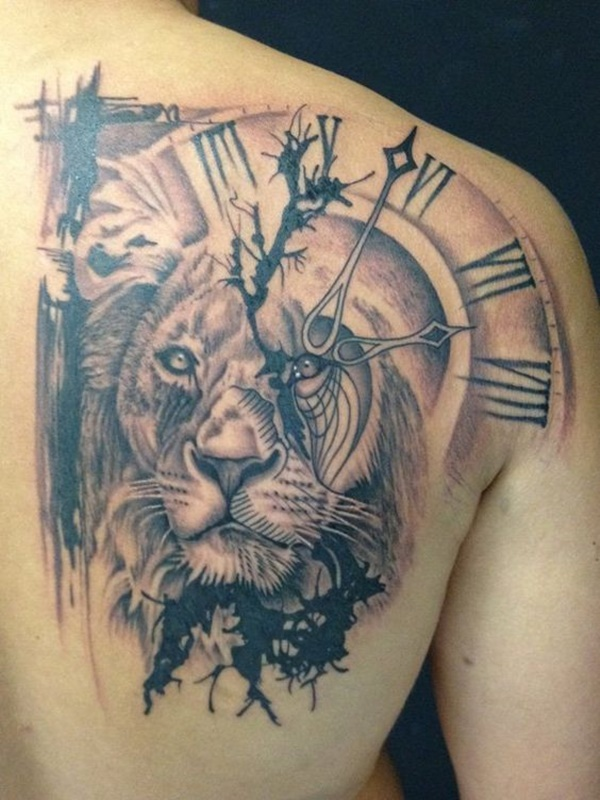 clock tattoo designs (30)