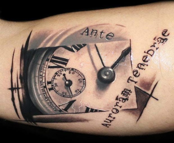 clock tattoo designs (35)