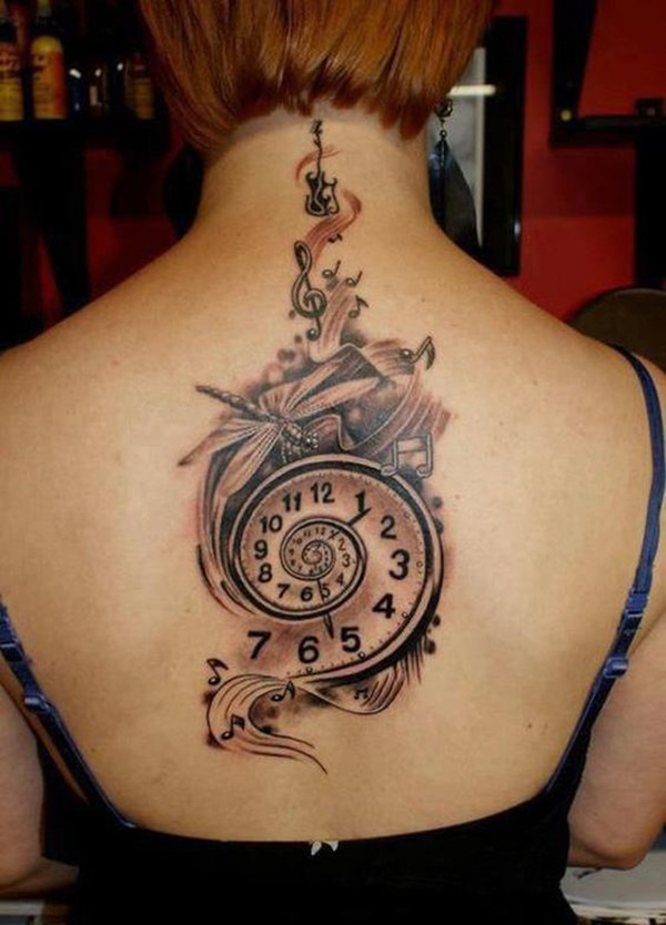 clock tattoo designs (44)