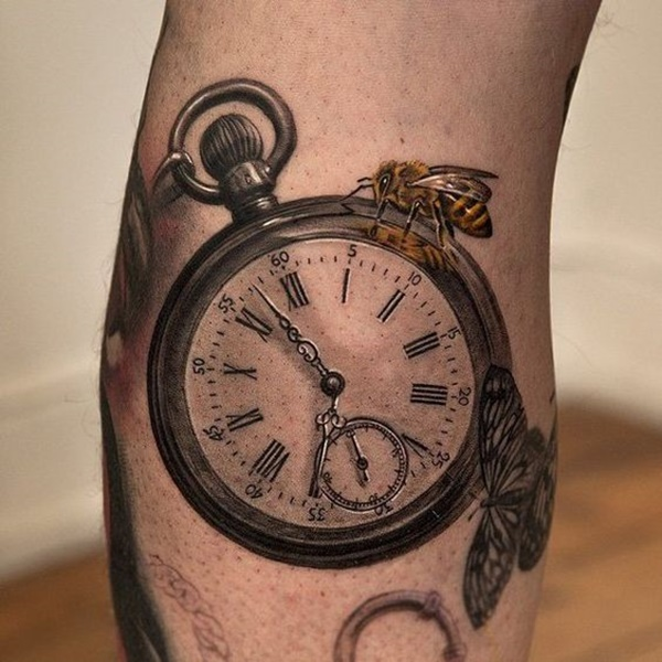 clock tattoo designs (47)
