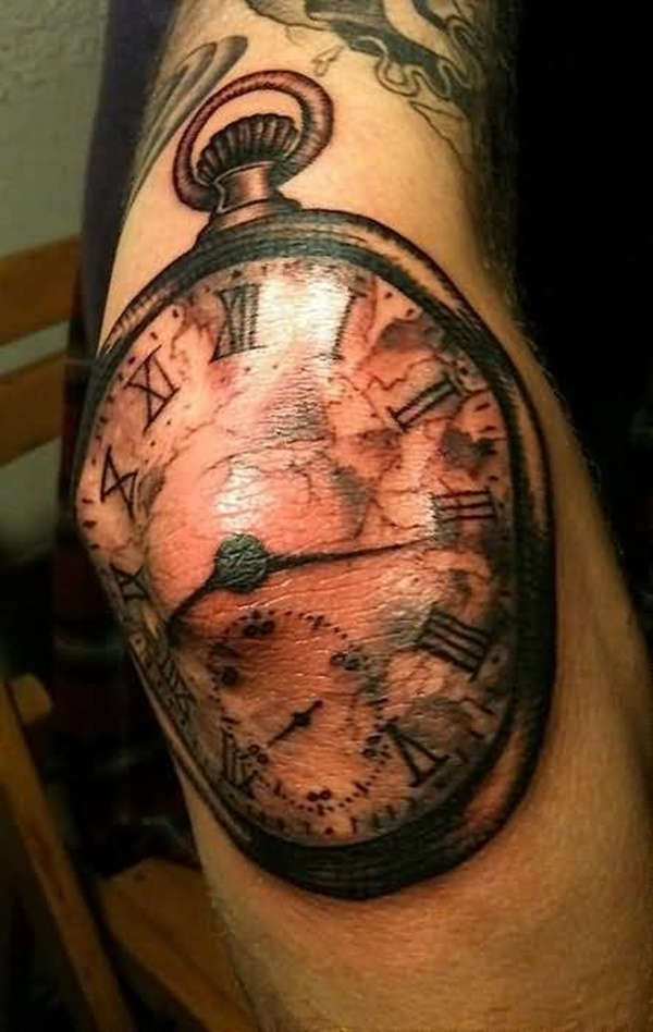 clock tattoo designs (55)