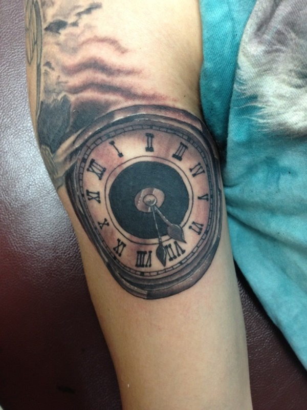 clock tattoo designs (61)