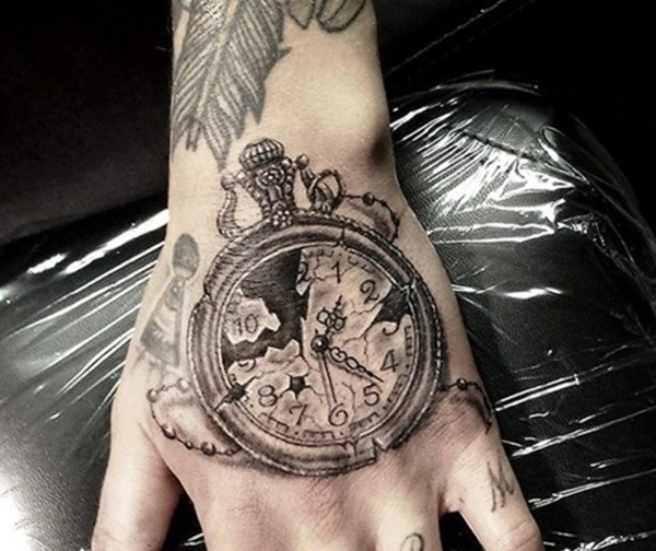 clock tattoo designs (66)