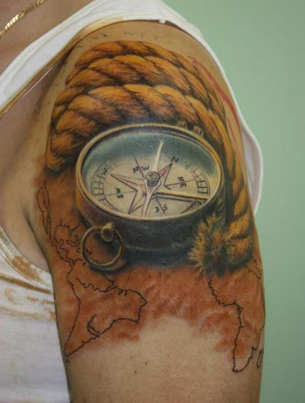 clock tattoo designs (69)