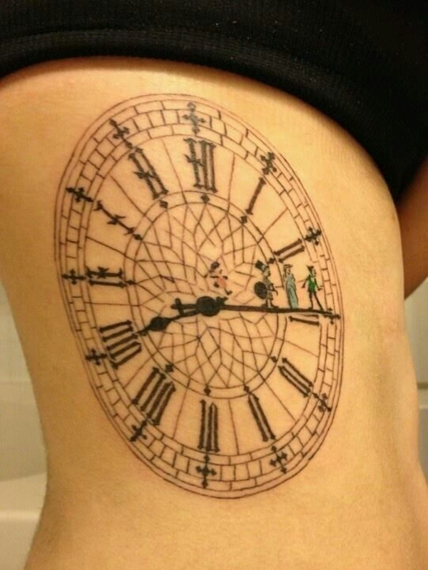 clock tattoo designs (7)