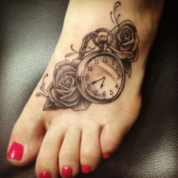 clock tattoo designs (73)