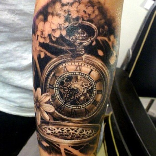 clock tattoo designs (76)