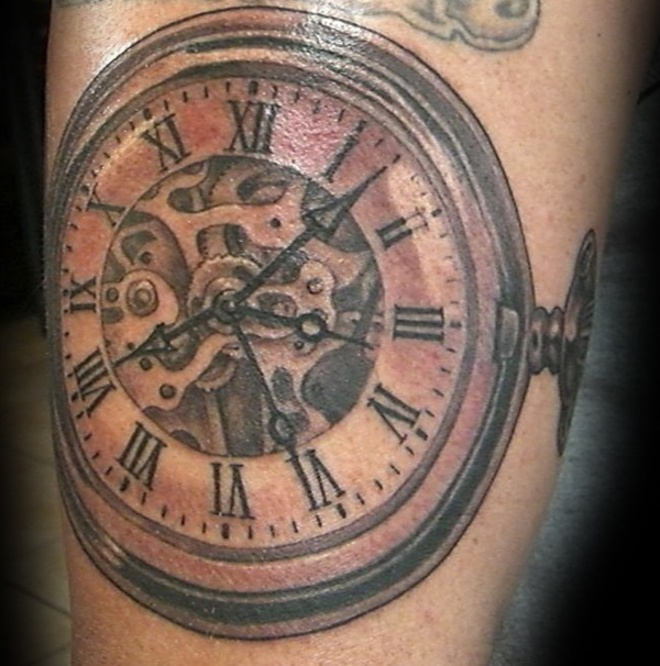 clock tattoo designs (84)