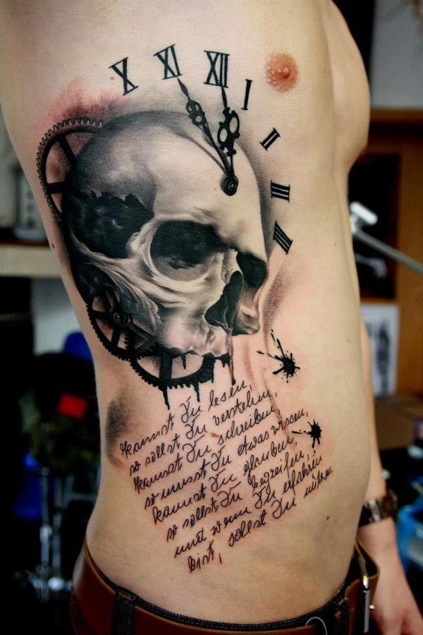 clock tattoo designs (87)