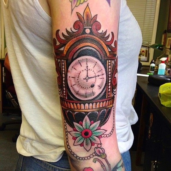 clock tattoo designs (88)