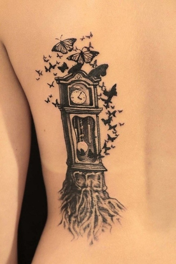 clock tattoo designs (89)