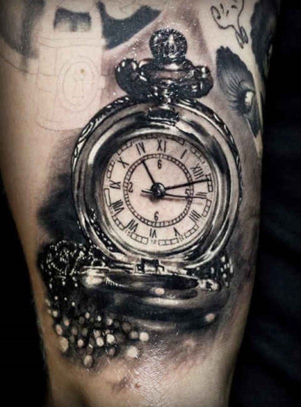 clock tattoo designs (98)