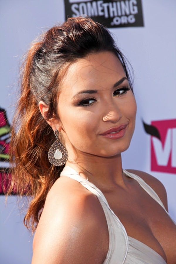 08/14/2011 - Demi Lovato - 2011 VH1 Do Something Awards - Arrivals - Palladium Hollywood - Hollywood, CA, USA - Keywords: Orientation: Portrait Face Count: 1 - False - Photo Credit: Andrew Evans / PR Photos - Contact (1-866-551-7827) - Portrait Face Count: 1