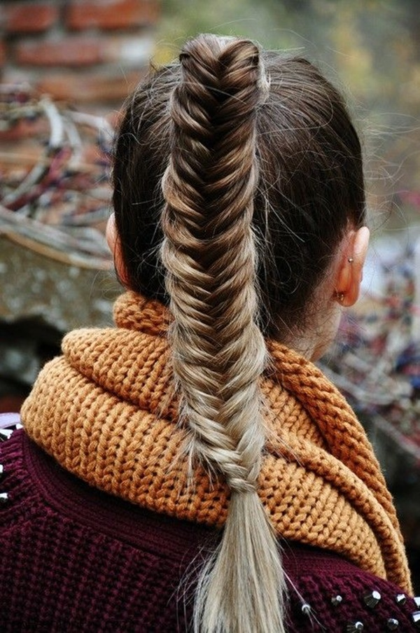 ponytail hairstyles for long hair (1)