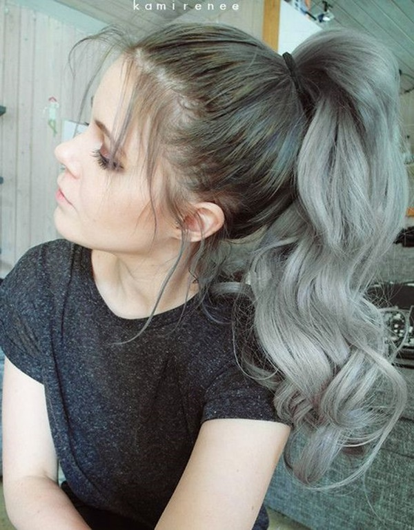 ponytail hairstyles for long hair (14)