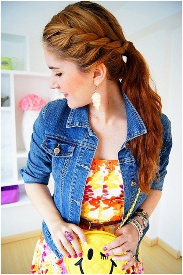 ponytail hairstyles for long hair (15)