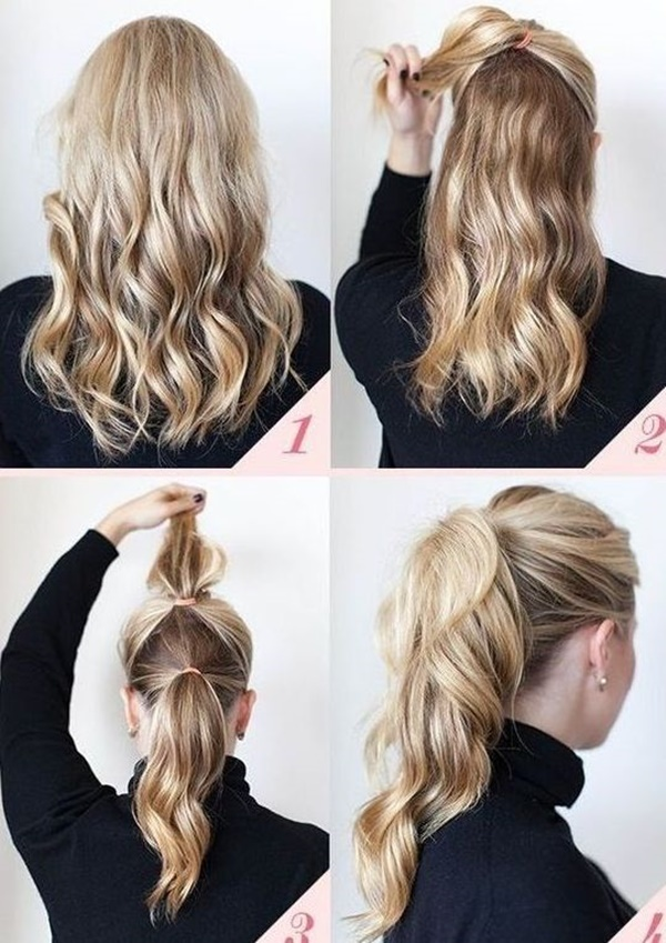 ponytail hairstyles for long hair (16)