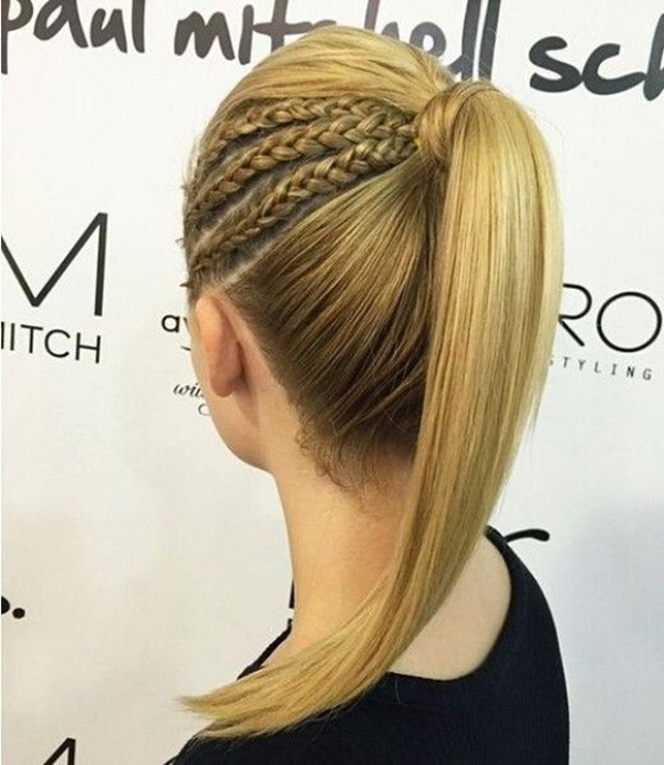 ponytail hairstyles for long hair (19)