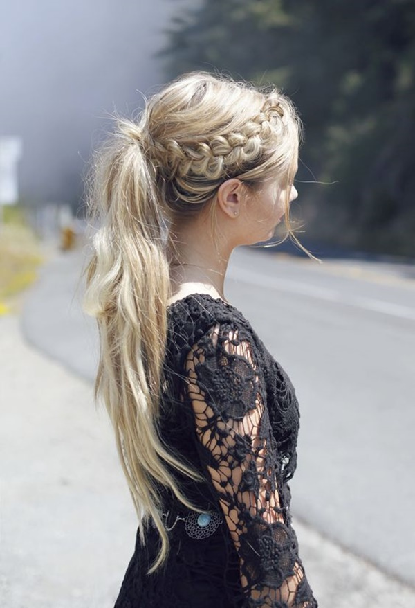 ponytail hairstyles for long hair (25)