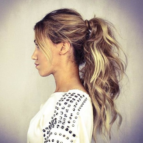 ponytail hairstyles for long hair (29)
