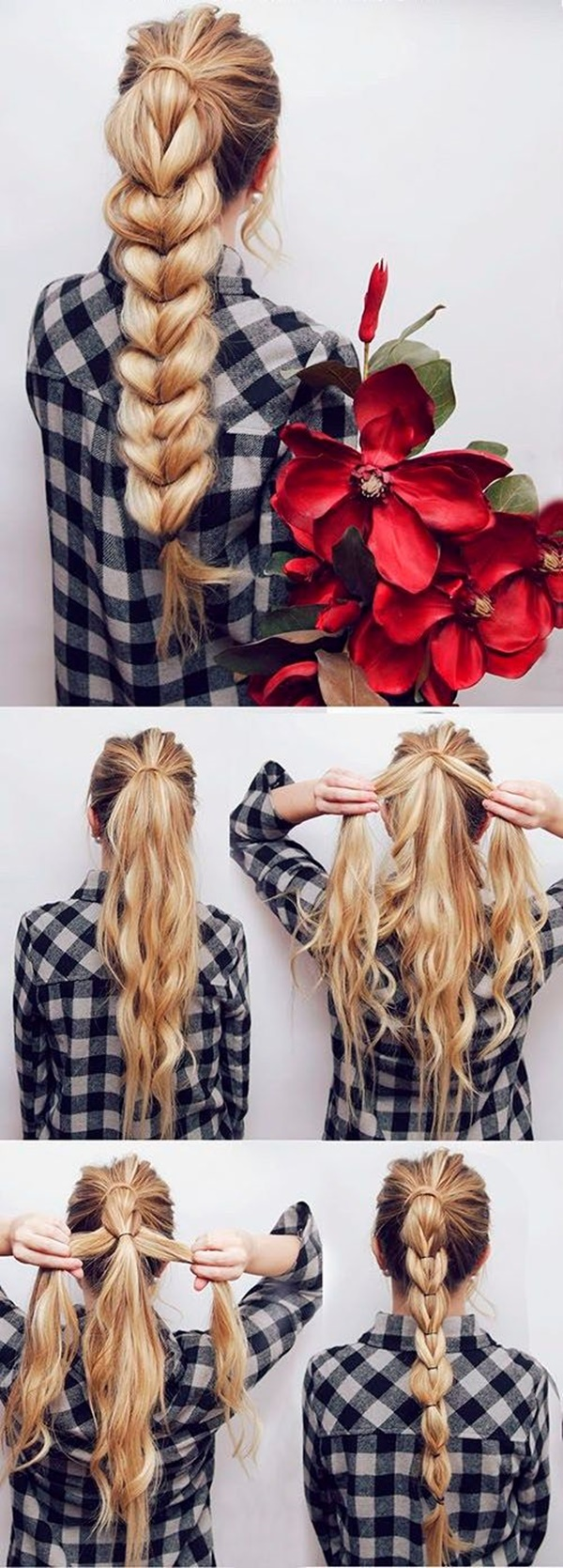 ponytail hairstyles for long hair (31)