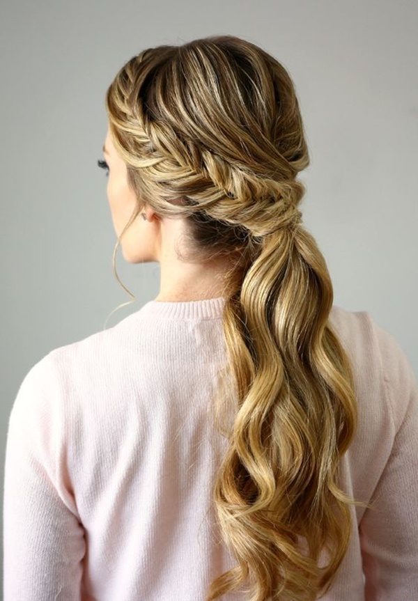 ponytail hairstyles for long hair (35)