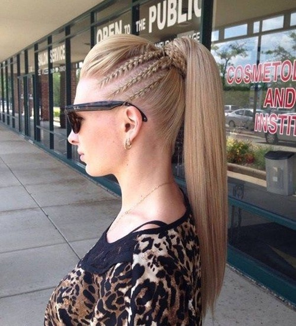 ponytail hairstyles for long hair (37)