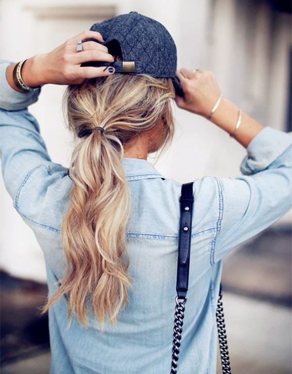 ponytail hairstyles for long hair (4)